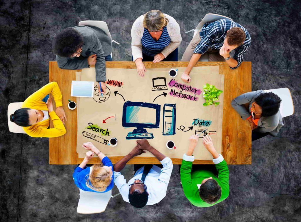 Equipe agence digitale